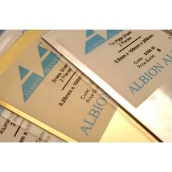 Albion SM3M Aluminium Plade...