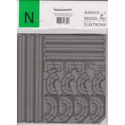 Aame 0020 N Dansk fortov 2 ark
