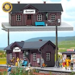 Busch 1462 Bahnhof Gunzen H0