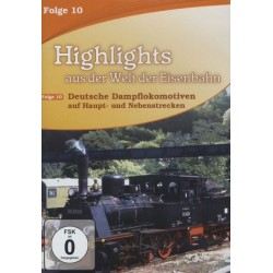DVD HIGHLIGHTS EISENBAHN 10