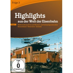 DVD HIGHLIGHTS EISENBAHN 3