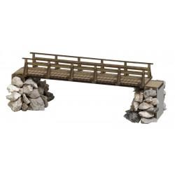 Busch 1497 Holzbrücke H0