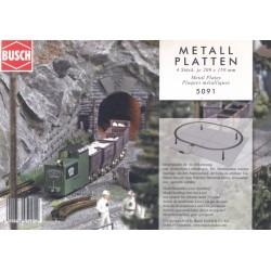 Busch 5091 Metallplatten H0