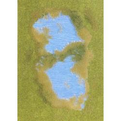 Busch 1312 See mit Ufer