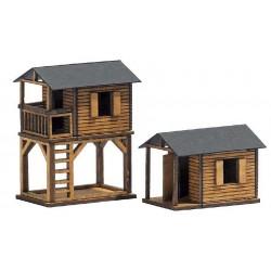 Busch 1486 Spielhäuser H0