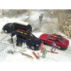 Busch 6004 Winter-Set H0