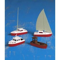 Kibri 39160 H0 Set Boote