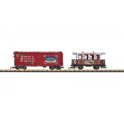 LGB 35073 Weihnachtswagen-Set
