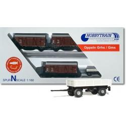 Lemke H24203 Güterwagen...