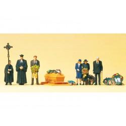 Preiser 10519 Beerdigung,...