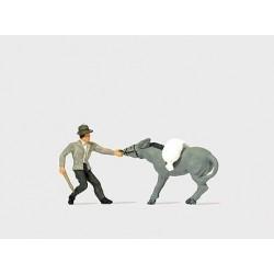 Preiser 29087 Störrischer Esel