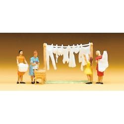 Preiser 14050 Wäscherinnen