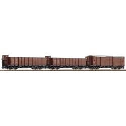 Roco 34593 H0e-Güterzug 3-tlg.