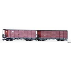 Tillig 05971 Güterwagenset DR