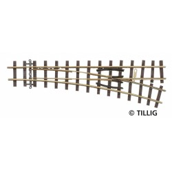 Tillig 85637 EW 18° rechts HOe