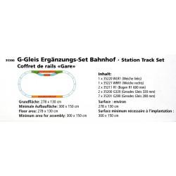 Piko 35300 G-Gleis Bahnhof-Set