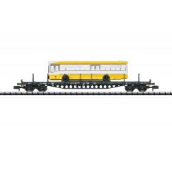 Trix 15861 Flachwagen mit...