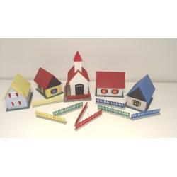 Hoffmann By med 4 huse og...