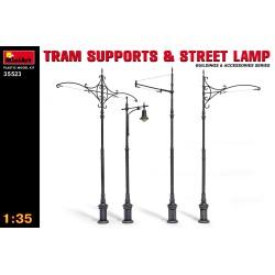 MiniArt 35523 TRAM SUPPORTS...